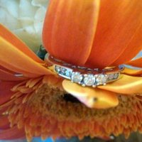 Flowers & Decor, Jewelry, orange, Flowers