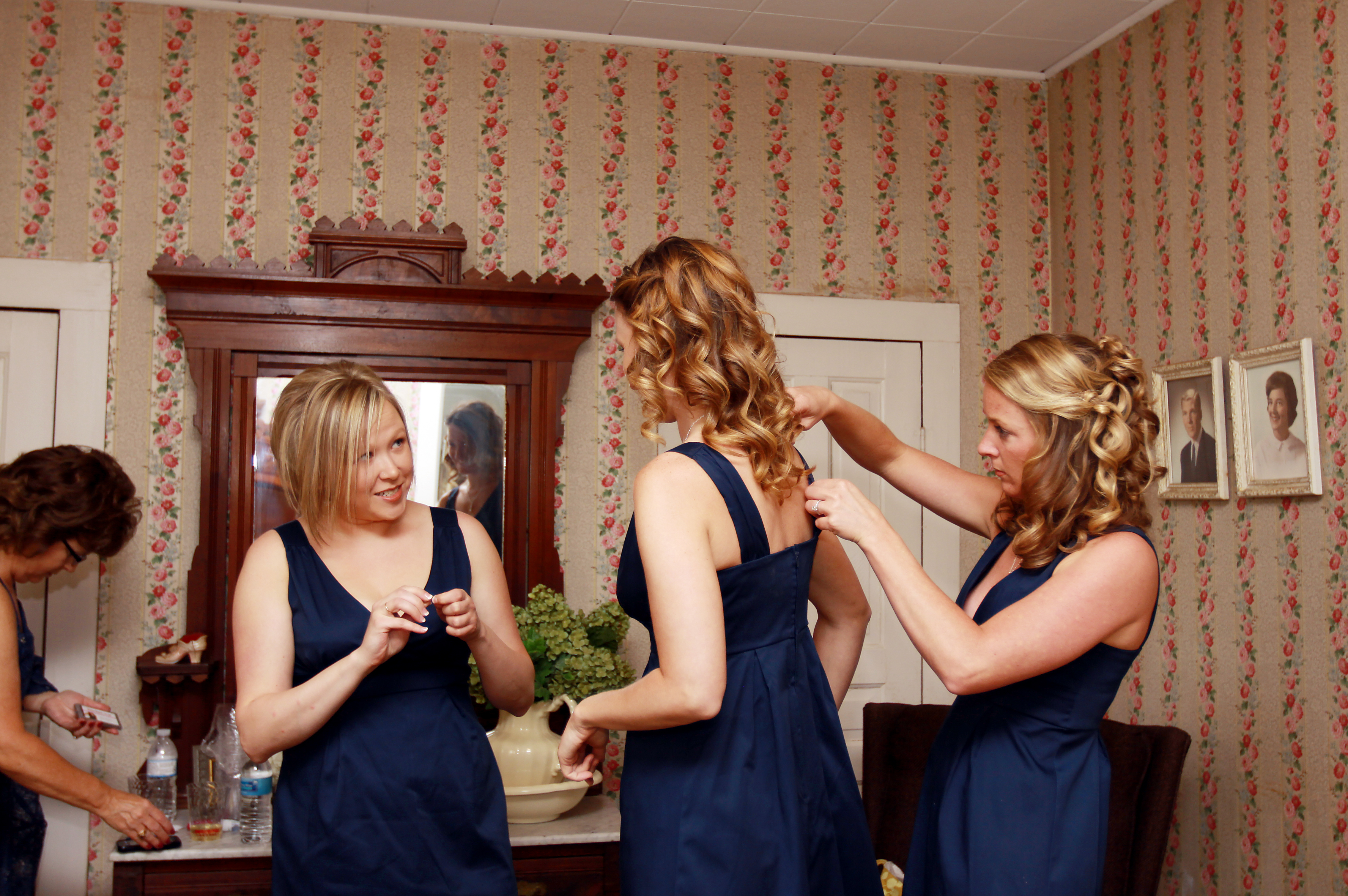 Beauty, Bridesmaids, Bridesmaids Dresses, Fashion, blue, Makeup