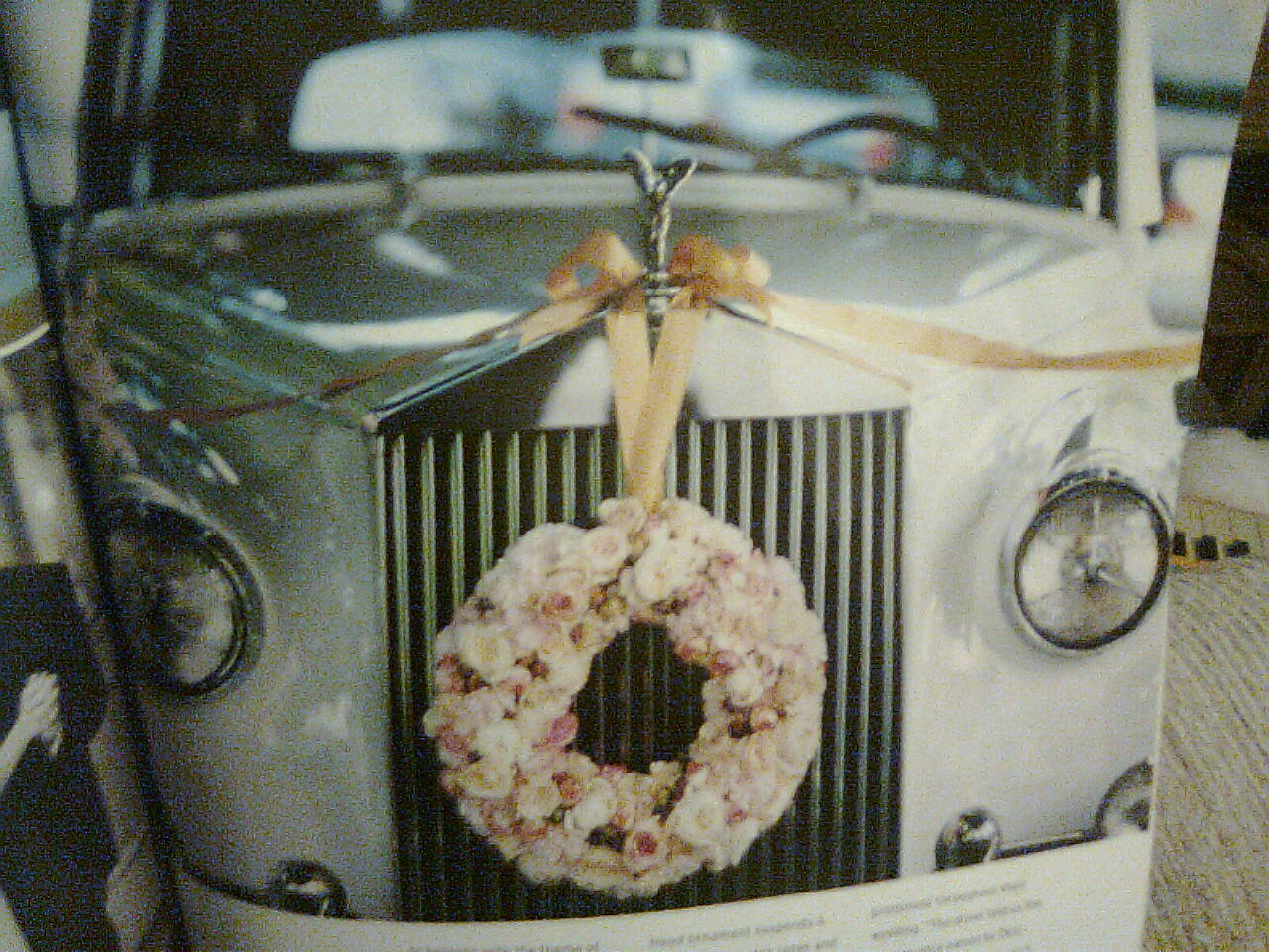 Reception, Flowers & Decor, Car, Decorations