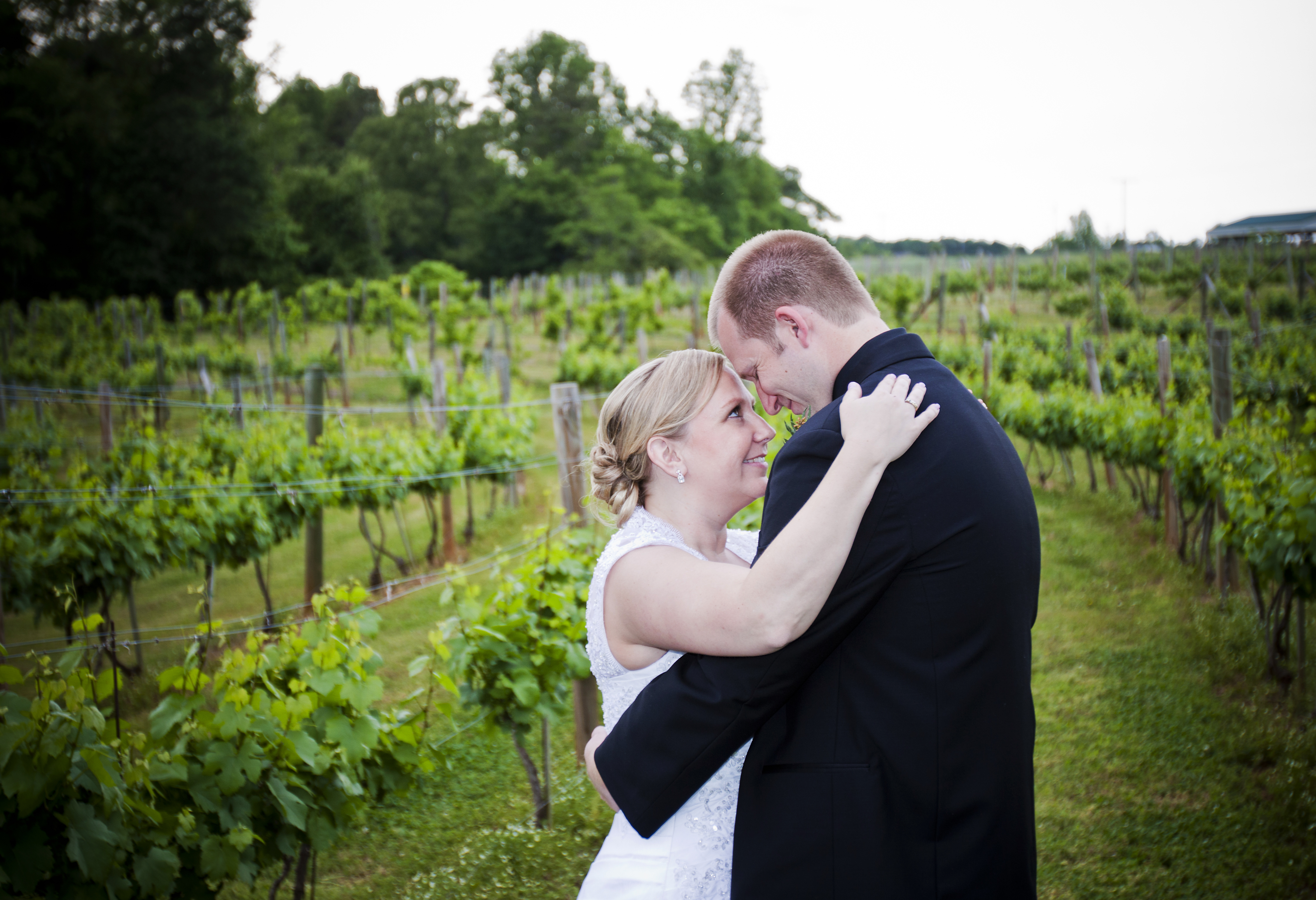 Flowers & Decor, Vineyard, Bride, Groom, And
