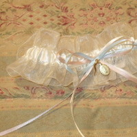 DIY, Wedding Dresses, Fashion, pink, blue, gold, dress, Garter