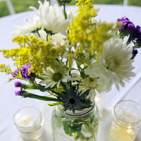 Flowers & Decor, Flowers, Jars, Mason