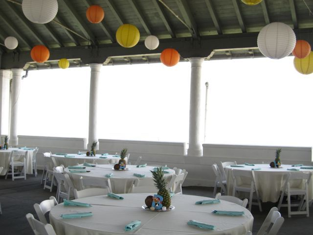 Reception, Flowers & Decor, white, yellow, orange