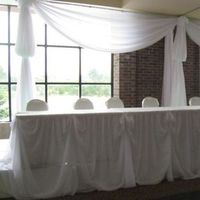 Reception, Flowers & Decor, white, Wedding, Backdrop, Swag
