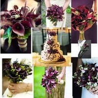Flowers & Decor, purple, Flowers, Inspiration board