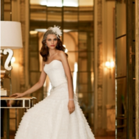 Wedding Dresses, Fashion, white, dress, Bridal, Signature, Galina, Davids
