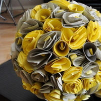 Reception, Flowers & Decor, yellow, silver, Decoration