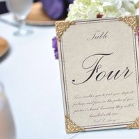 Reception, Flowers & Decor, purple, Flowers