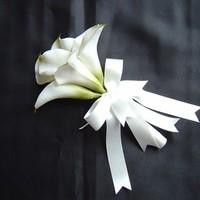 Flowers & Decor, Bridesmaids, Bridesmaids Dresses, Fashion, white, Bridesmaid Bouquets, Flowers, Calla, Lilies, Flower Wedding Dresses