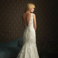 Wedding Dresses, Lace Wedding Dresses, Fashion, ivory, dress, Gown, Wedding, Bridal, Lace, Applique, For, New, Sale