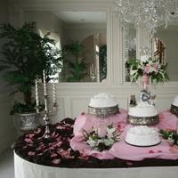 Cakes, pink, brown, cake