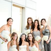 Bridesmaids, Bridesmaids Dresses, Fashion, white, silver