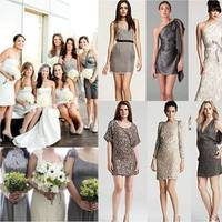 Bridesmaids, Bridesmaids Dresses, Fashion, white, silver, Inspiration board