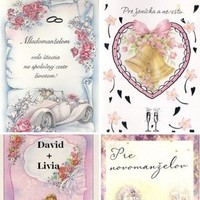 Stationery, white, pink, blue, Invitations, Inspiration board