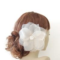Beauty, Flowers & Decor, Veils, Fashion, Updo, Flower, Veil, Wedding, Hair, Birdcage, Me, Hairflower, Fascinate