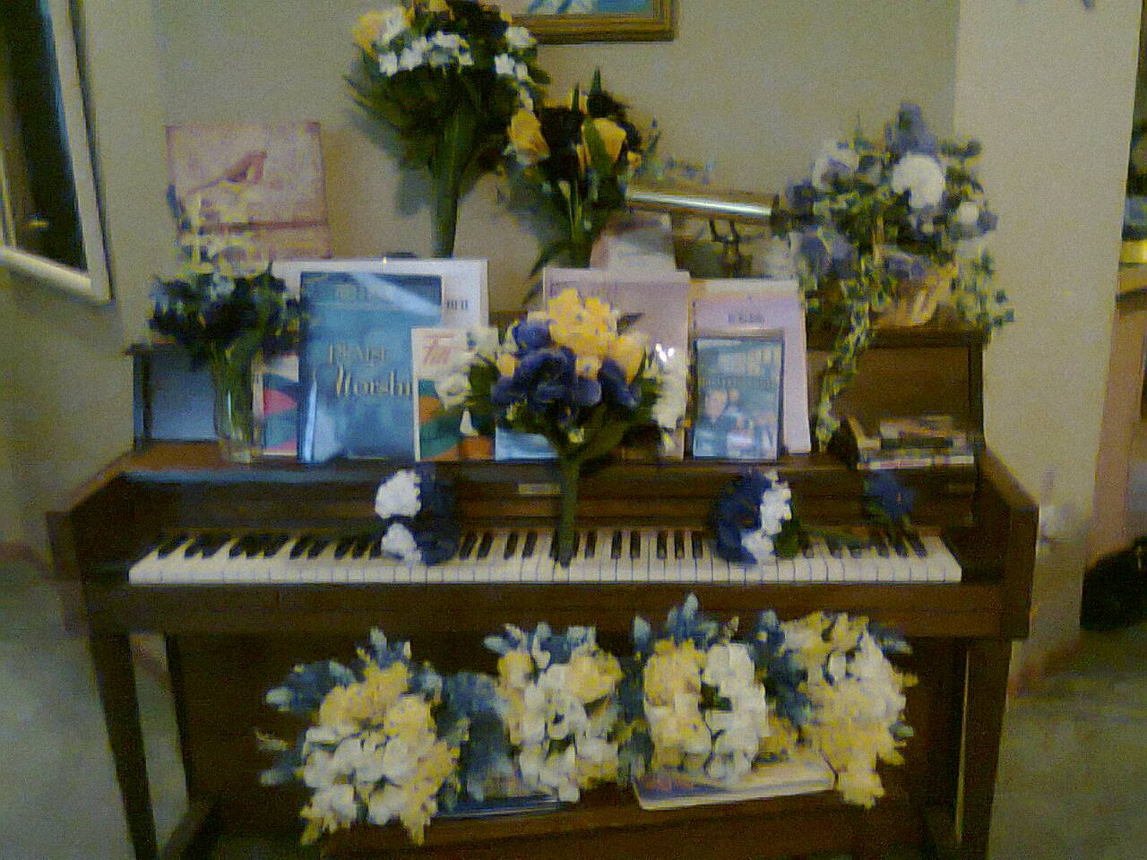 Flowers & Decor, Flowers, My, I, Together, Aunt, N, Pam, Put
