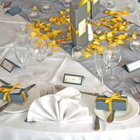 Reception, Flowers & Decor, Favors & Gifts, yellow, Favors