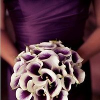 Flowers & Decor, Wedding Dresses, Fashion, purple, dress, Flowers, Flower Wedding Dresses