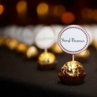 Reception, Flowers & Decor, Favors & Gifts, brown, gold, Favors, Chocolate