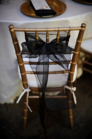 Reception, Flowers & Decor, black, Tables & Seating, Chair, Chairs, Sashes, Ties