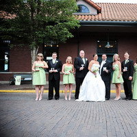 Reception, Flowers & Decor, Bridesmaids, Bridesmaids Dresses, Fashion, white, green