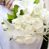 Flowers & Decor, white, green, Flowers, Roses, Lilies