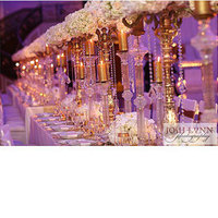 Reception, Flowers & Decor, pink, purple, gold