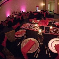 Reception, Flowers & Decor, white, pink, black