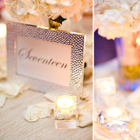 Reception, Flowers & Decor, white, pink, silver, gold, Flowers