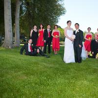 Bridesmaids, Bridesmaids Dresses, Wedding Dresses, Fashion, yellow, red, dress, Wedding party