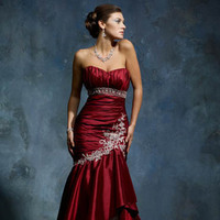 Wedding Dresses, Fashion, red, dress, Solano, Mia, M2715l