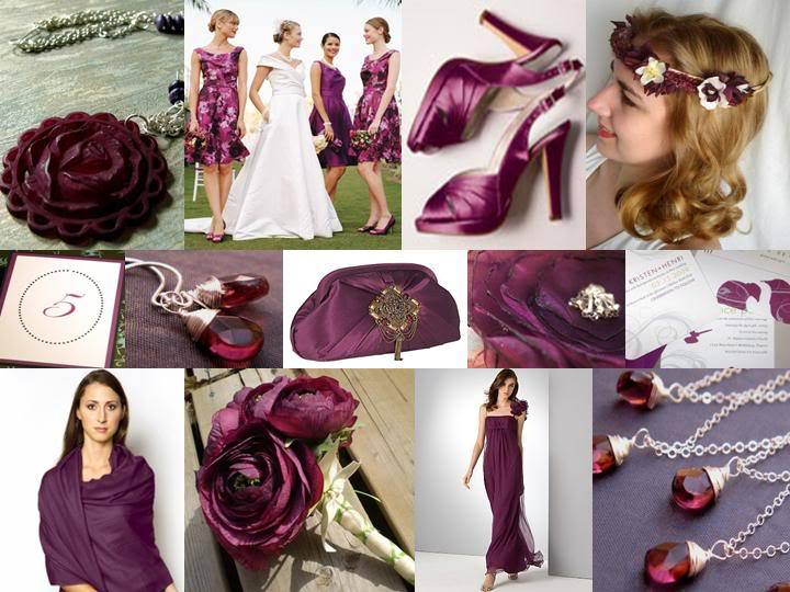 purple, silver, Inspiration board