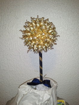 Reception, Flowers & Decor, Favors & Gifts, blue, gold, Favors