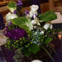 Flowers & Decor, white, purple, Centerpieces, Garden, Flowers, Garden Wedding Flowers & Decor, Centerpiece, Wildflower