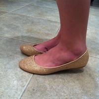 gold, Shoes, Fashion