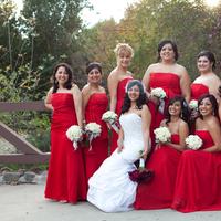 Bridesmaids, Bridesmaids Dresses, Fashion, white, red, silver
