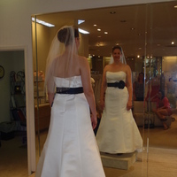 Wedding Dresses, Veils, Fashion, white, black, dress, Veil