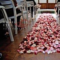 Ceremony, Flowers & Decor, Aisle, Runner, Petal