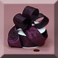 Flowers & Decor, purple, Flowers, Ribbon, Plum, Grosgrain