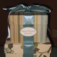 Reception, Flowers & Decor, Gift, Box, Card
