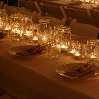 Reception, Flowers & Decor, Candle, Votives, Jar, Mason