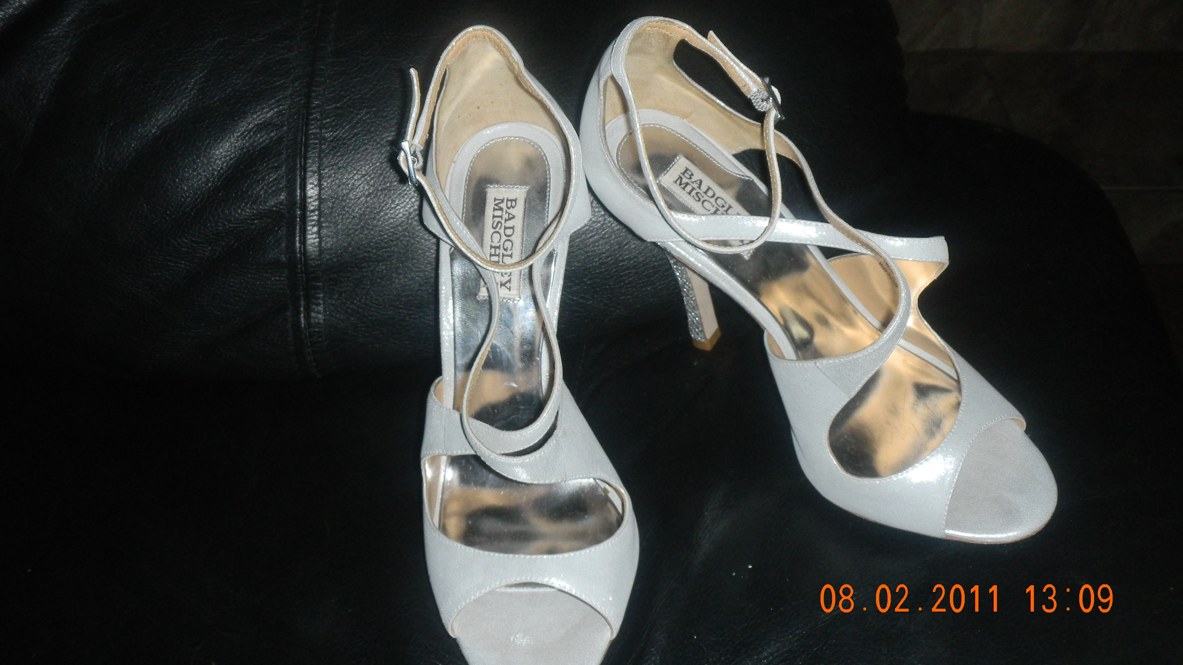 Shoes, Fashion, silver