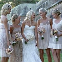 Bridesmaids, Bridesmaids Dresses, Wedding Dresses, Fashion, pink, dress, Inspiration board