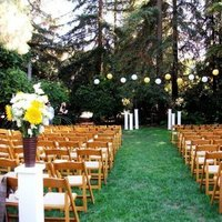 Ceremony, Flowers & Decor, white, brown