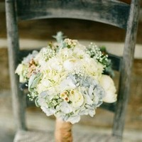 Flowers & Decor, white, blue, Bride Bouquets, Flowers, Bouquet, Bridal