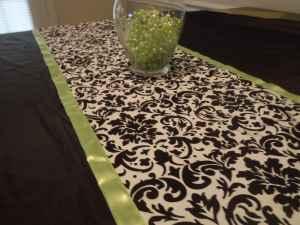 Reception, Flowers & Decor, white, green, black