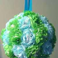 Flowers & Decor, blue, green, Flowers, Decoration