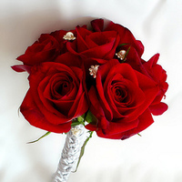 Flowers & Decor, red, Bride Bouquets, Flowers, Bouquet