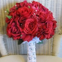 Flowers & Decor, red, Flowers