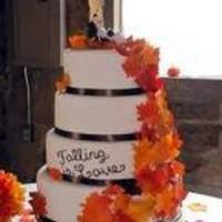Reception, Flowers & Decor, Cakes, yellow, orange, red, brown, gold, cake, Inspiration board